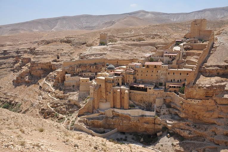 The Monastery of St Saba